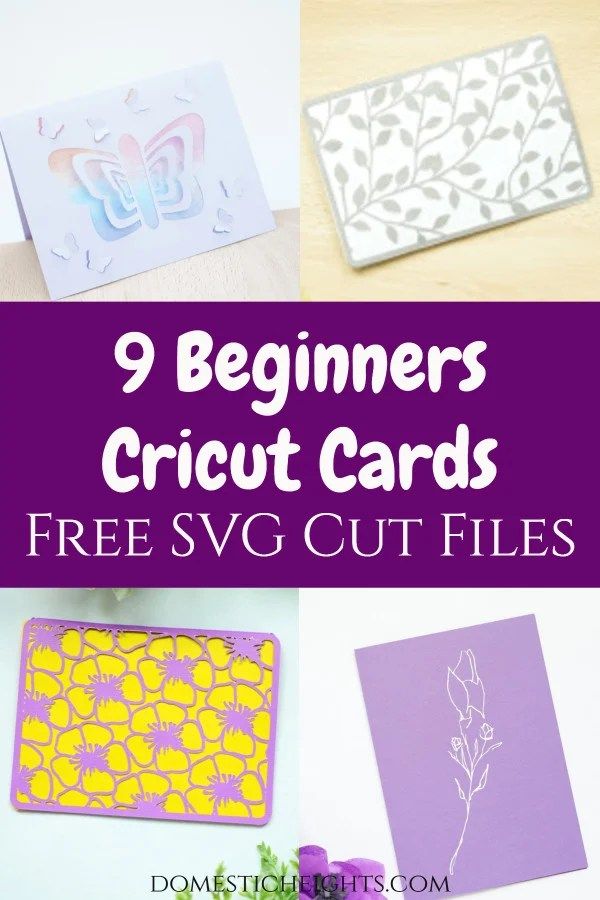 free cricut card ideas, svg cut files,