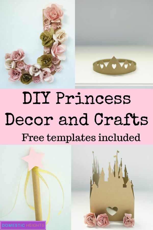 diy princess party and craft ideas
