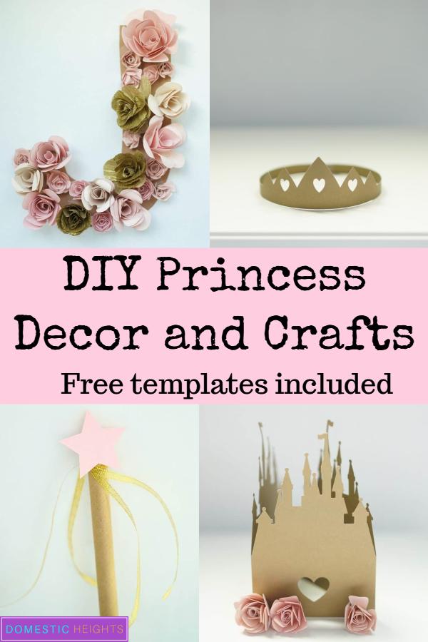 ideas para fiestas de princesas y manualidades