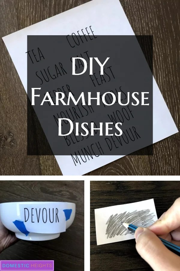 rae dun inspired pottery, diy farmhouse gift crafts project ideas