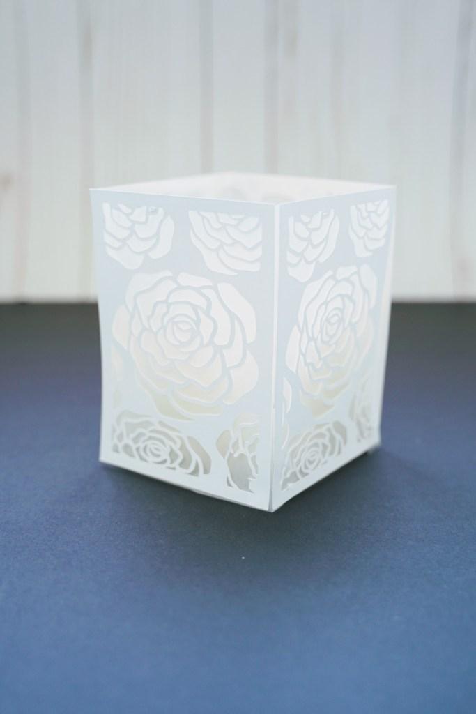 DIY paper luminary