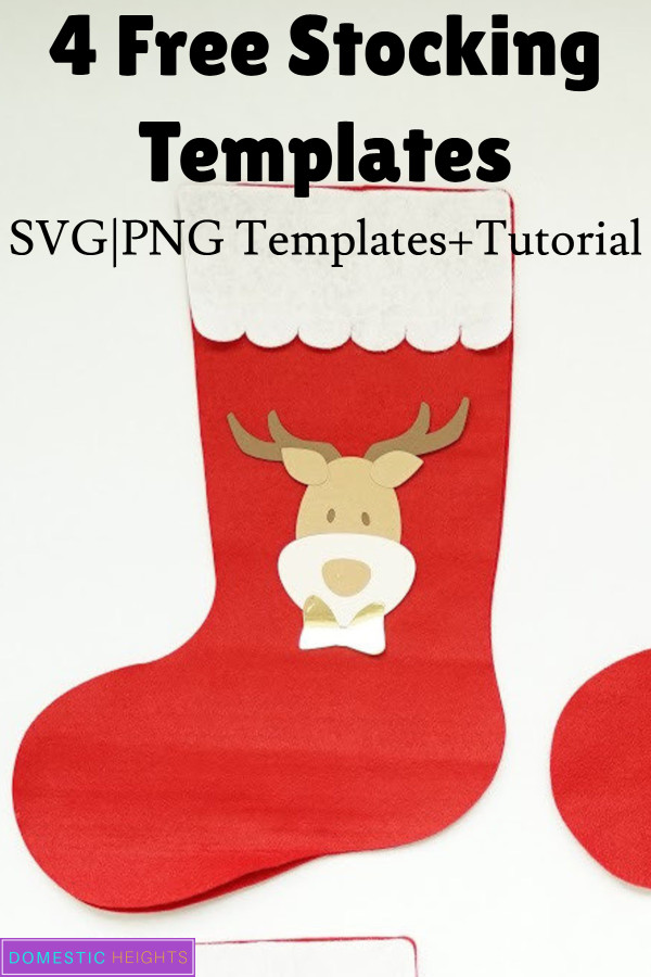 how to decorate christmas stockings felt