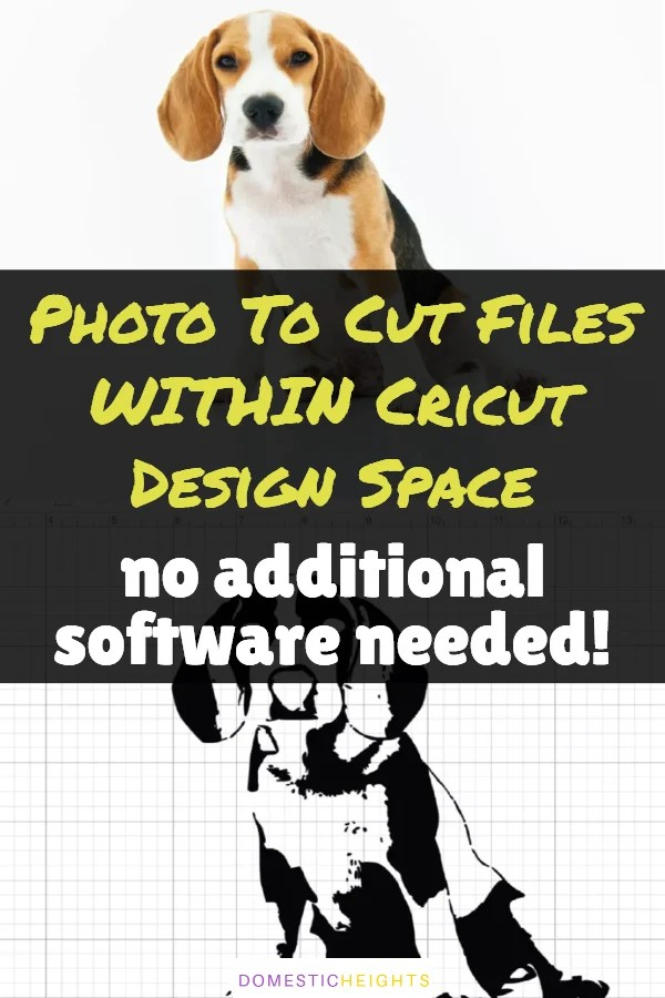 how to turn a picture into a cut file for cricut