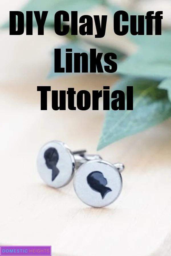 DIY cuff links