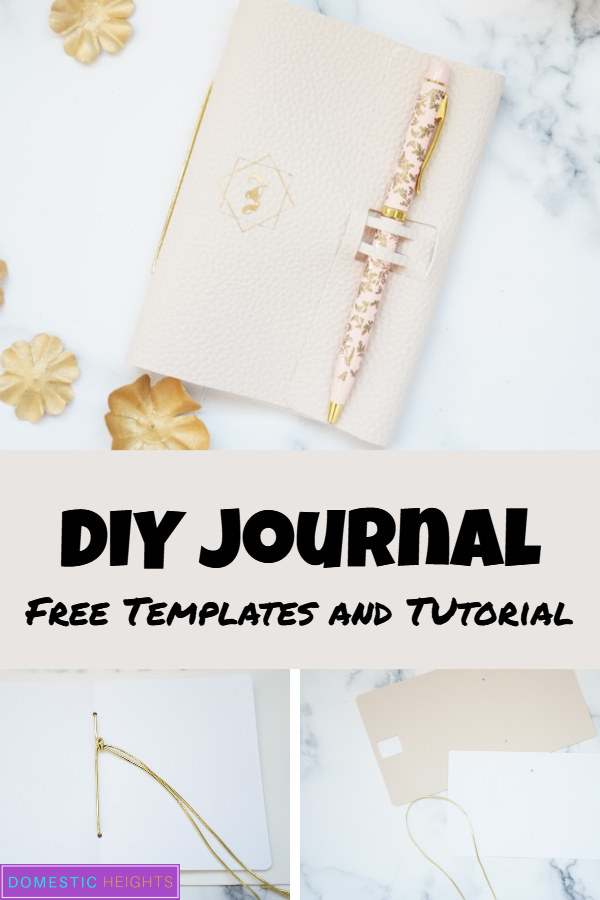DIY journal cover