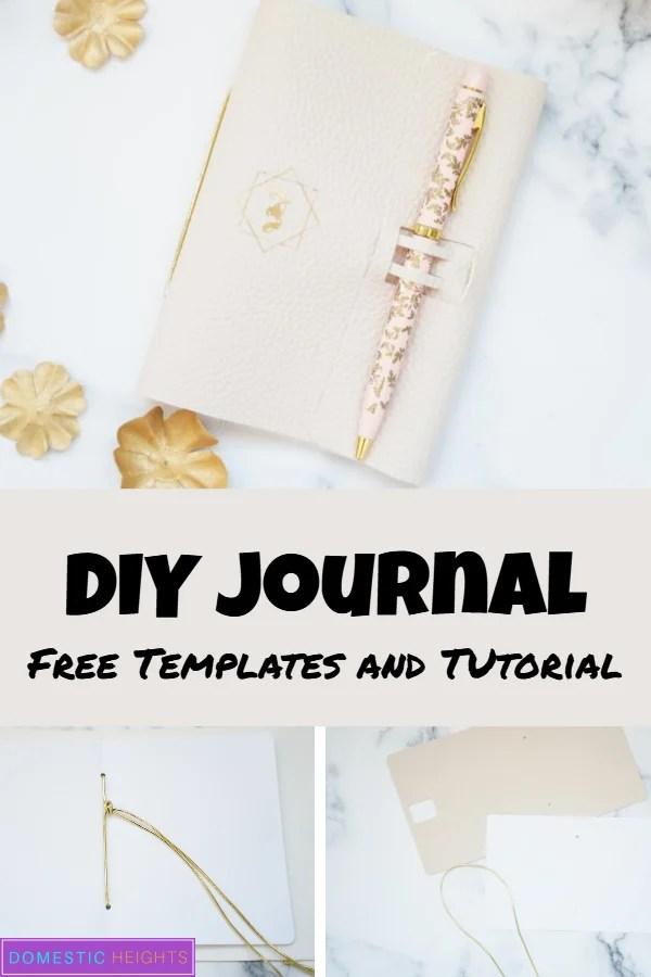 DIY journal cover
