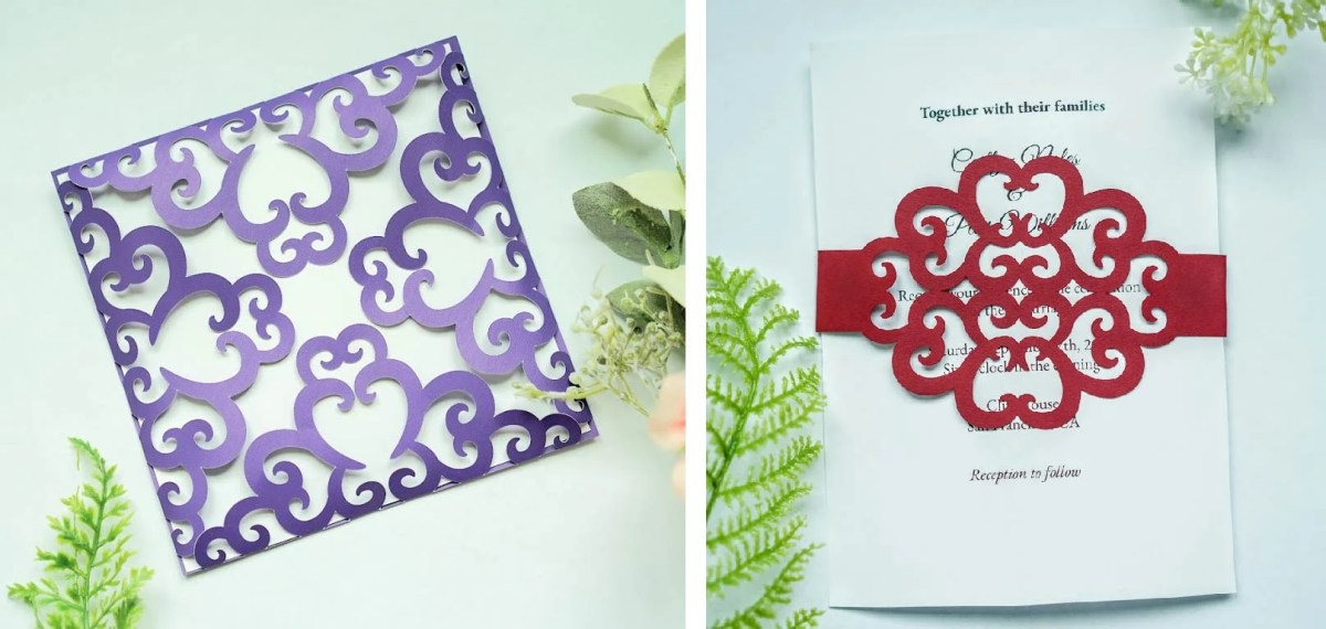 free svg wedding invitations