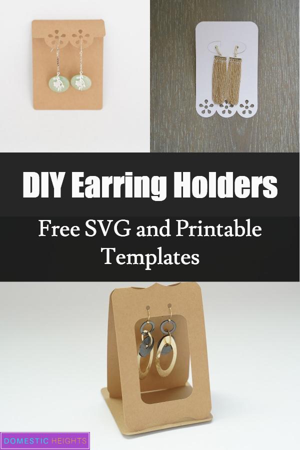 earring holder templates