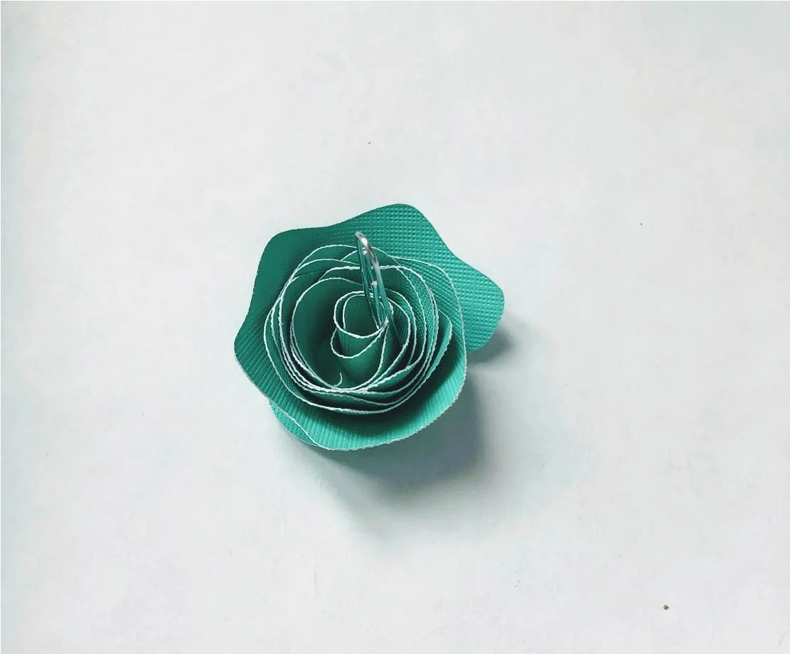 paper flower free template