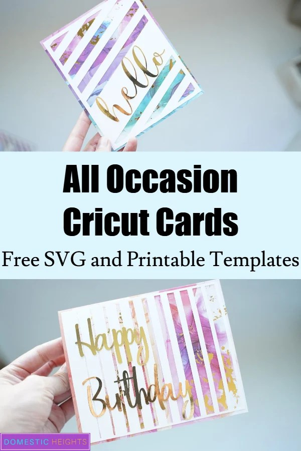 Handmade card templates