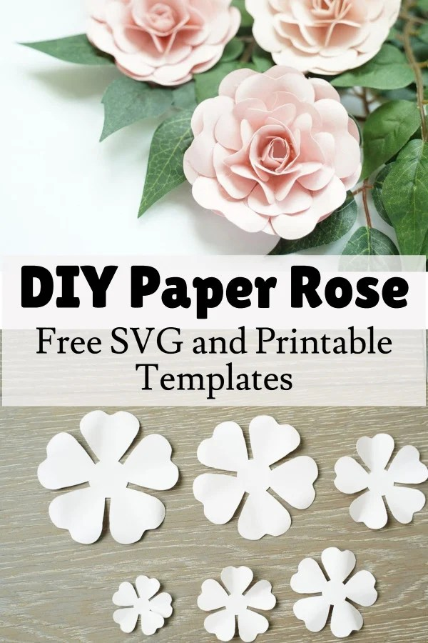 paper rose flower tutorial