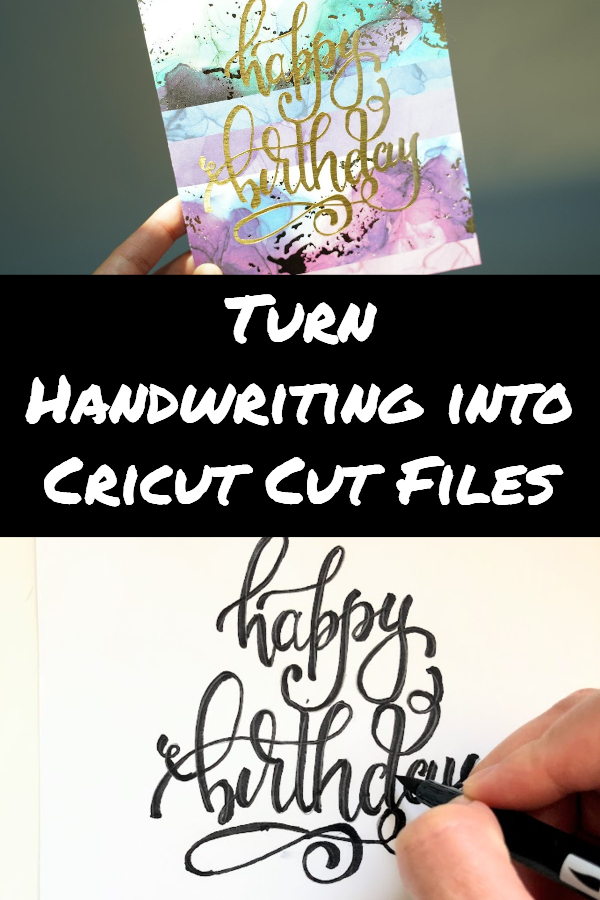 how to turn handwriting into svg
