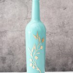 How To Paint Wine Bottles Domestic Heights