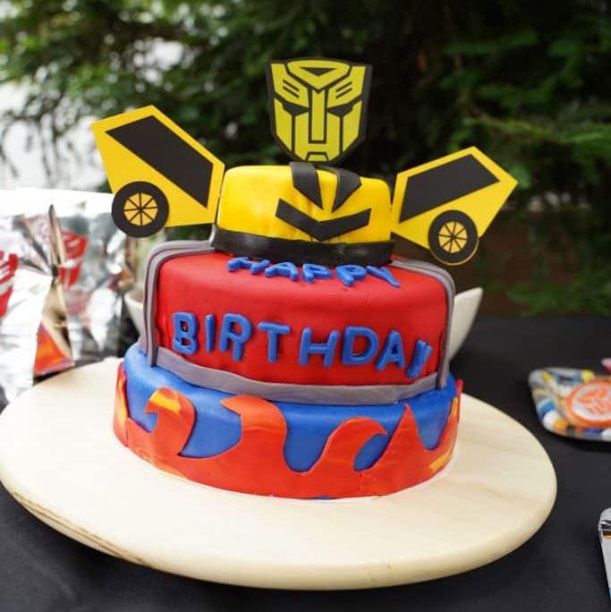 kids birthday cake topper template