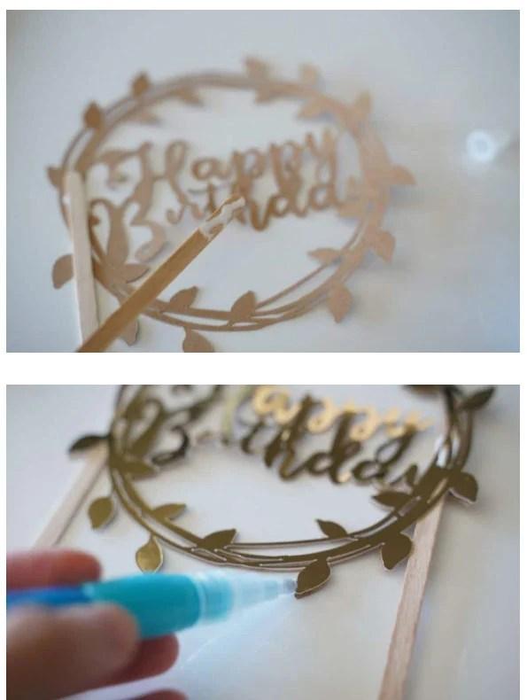 3d cake topper svg