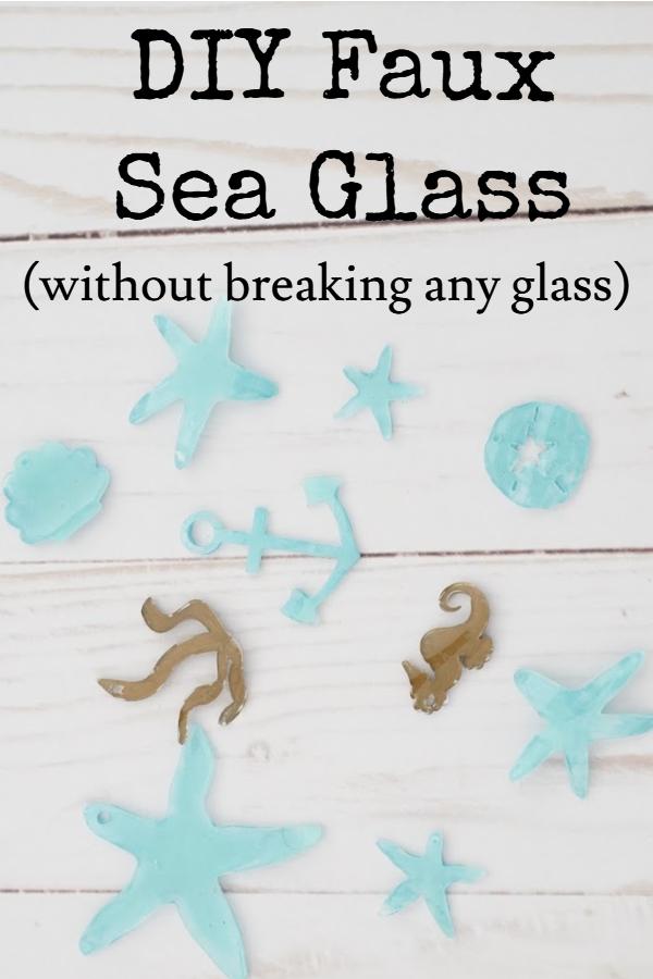 diy sea glass