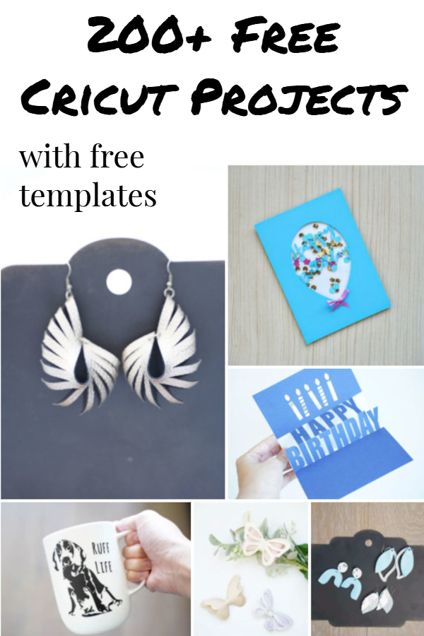 free cricut projects