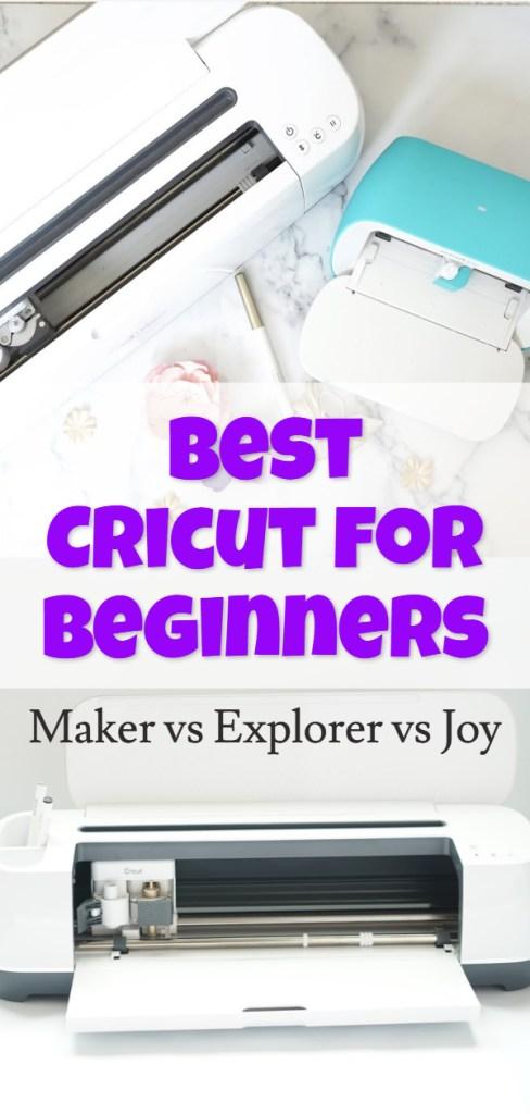 best cricut machine for beginners