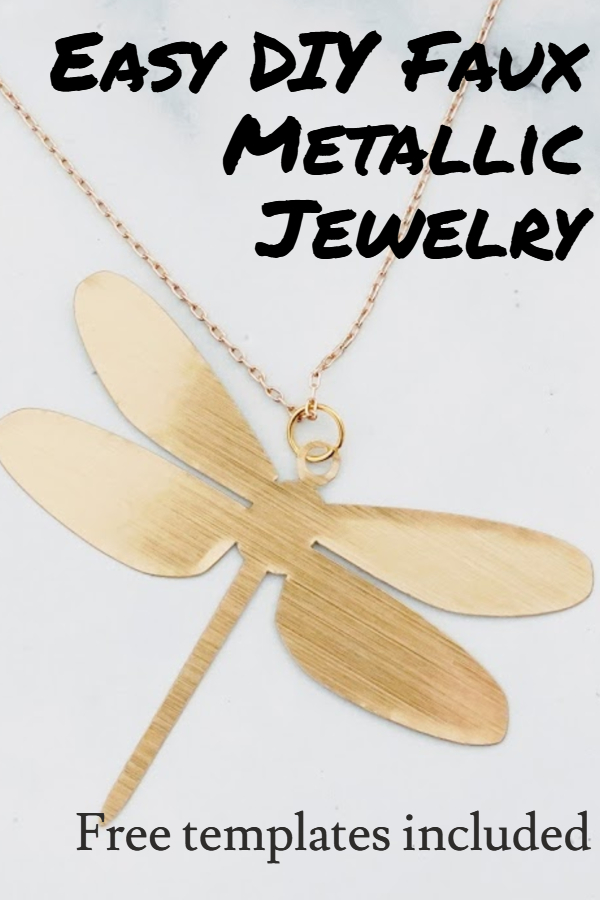 cricut jewelry project