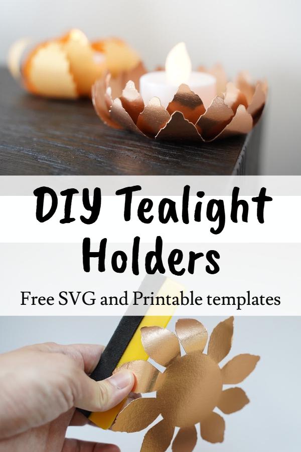 tealight decor idea