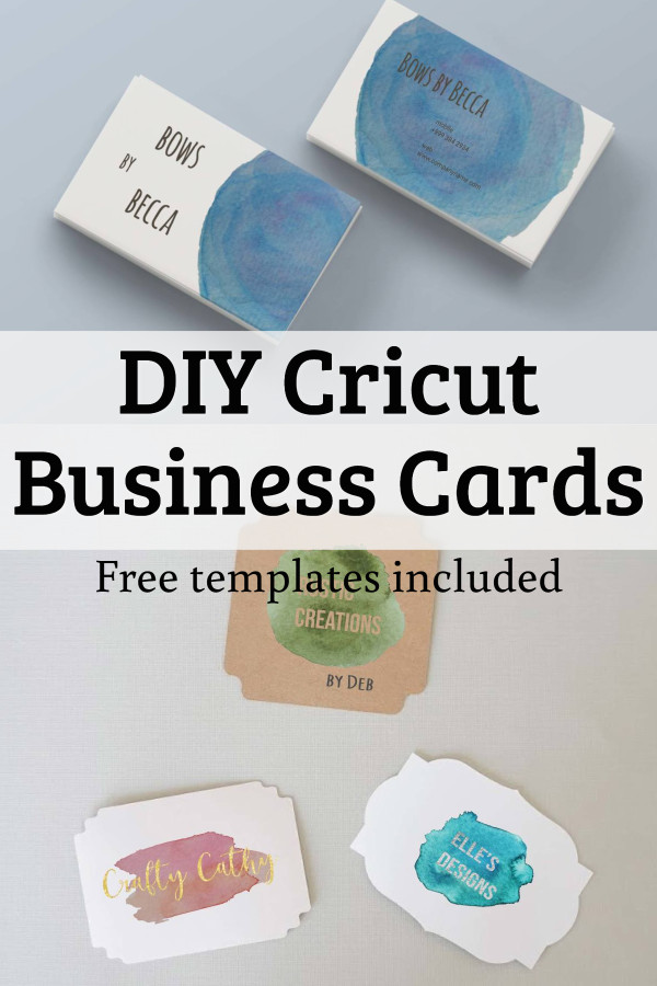 cricut business cards