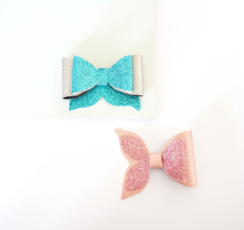 mermaid tail bow