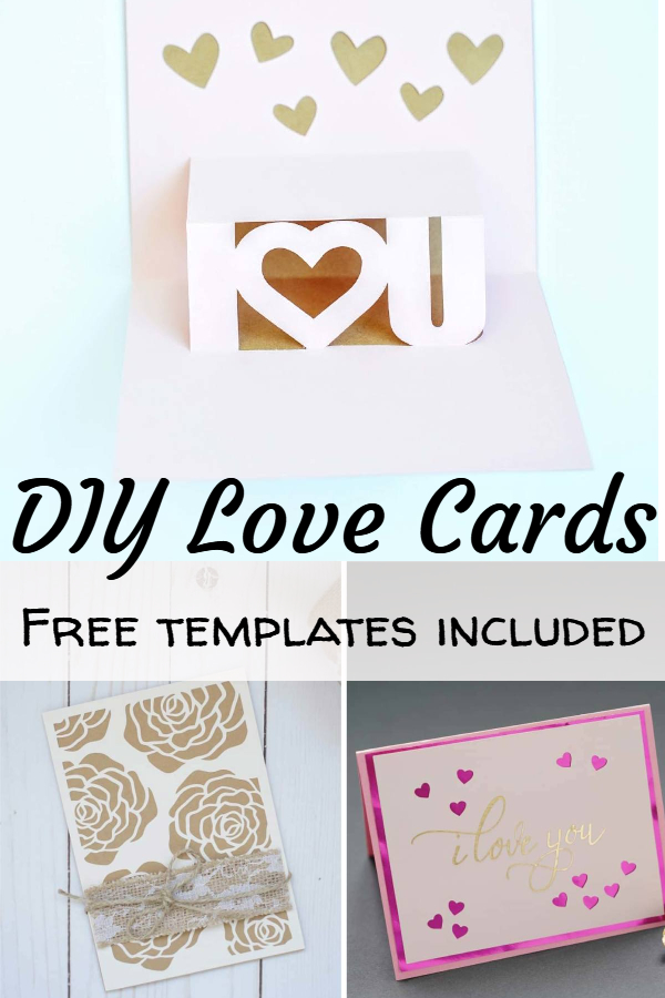 love card template
