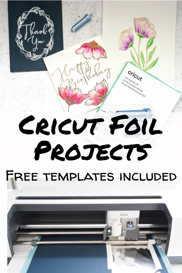 Cricut foil projects tutorial