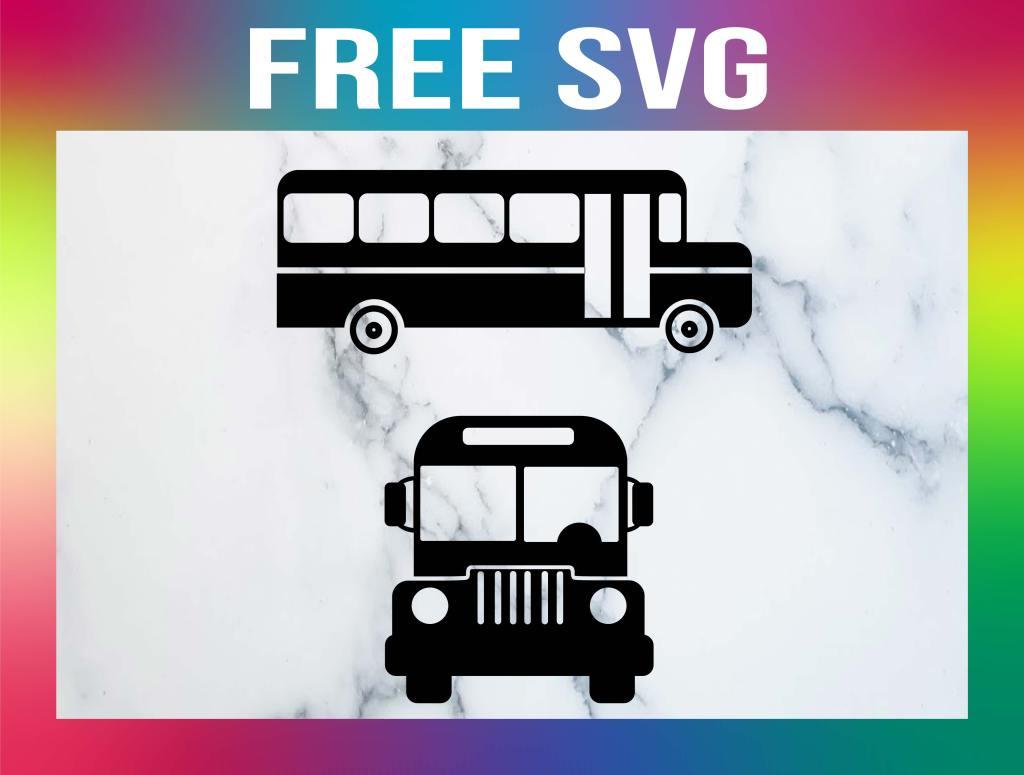 Free School Bus SVG