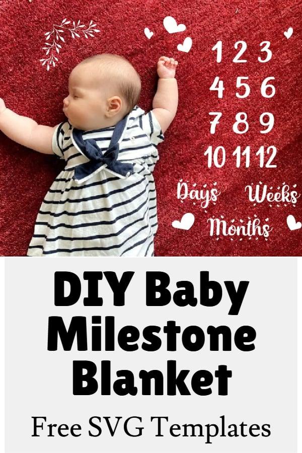 baby milestone svg