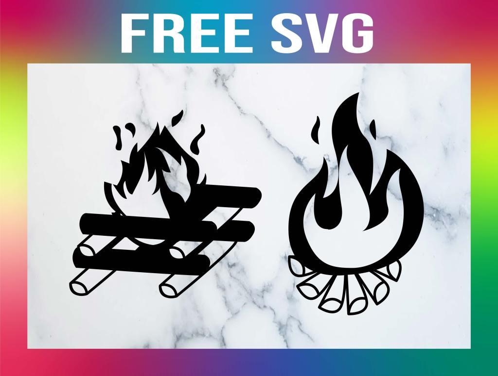 Free Camp Fire SVG