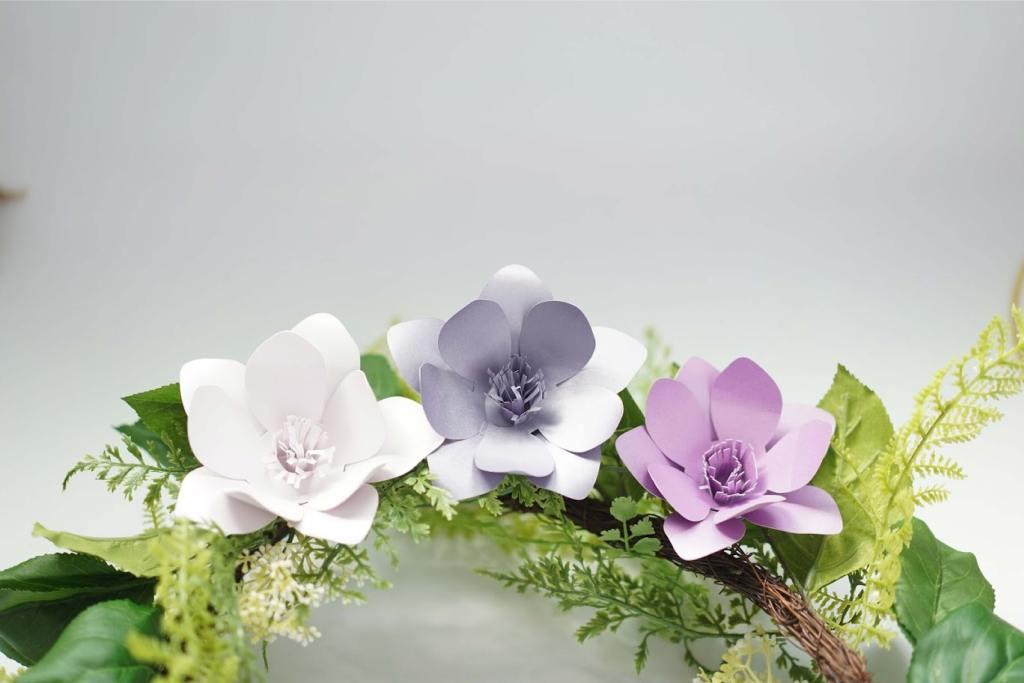 paper magnolia flower template