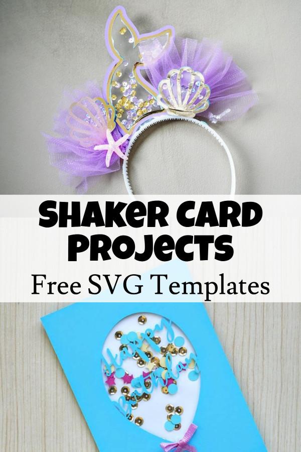 diy shaker cards template