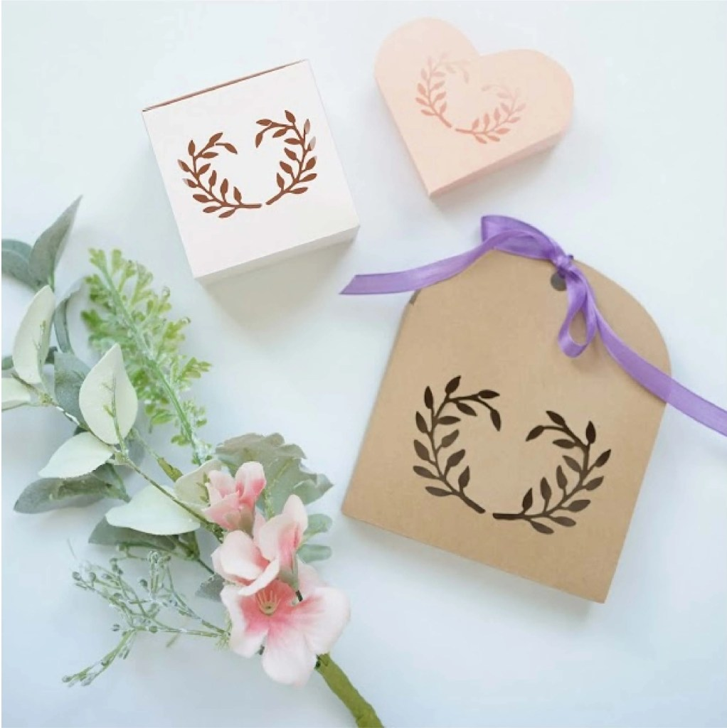favor boxes template free