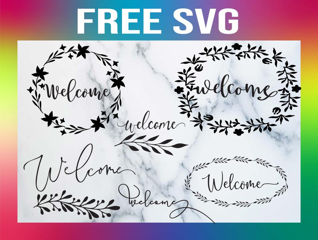 Free Welcome SVG