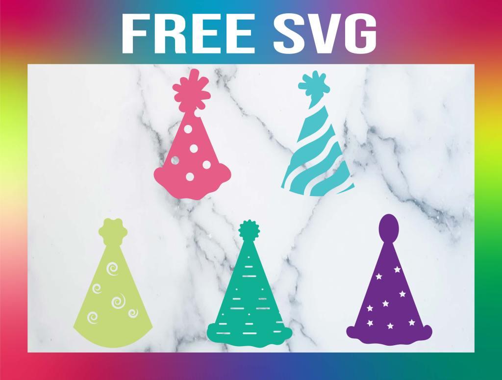 Free Birthday Hat SVG
