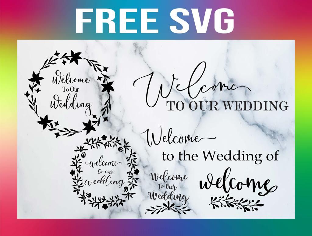 free wedding svg
