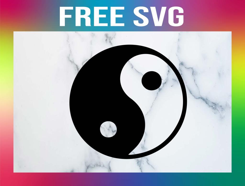 Free Yin Yang SVG