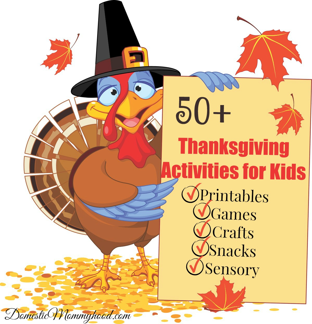 50 Thanksgiving Activities For Kids