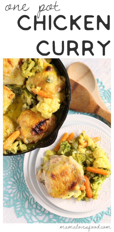 Chicken Curry One Pot Recipe (1)