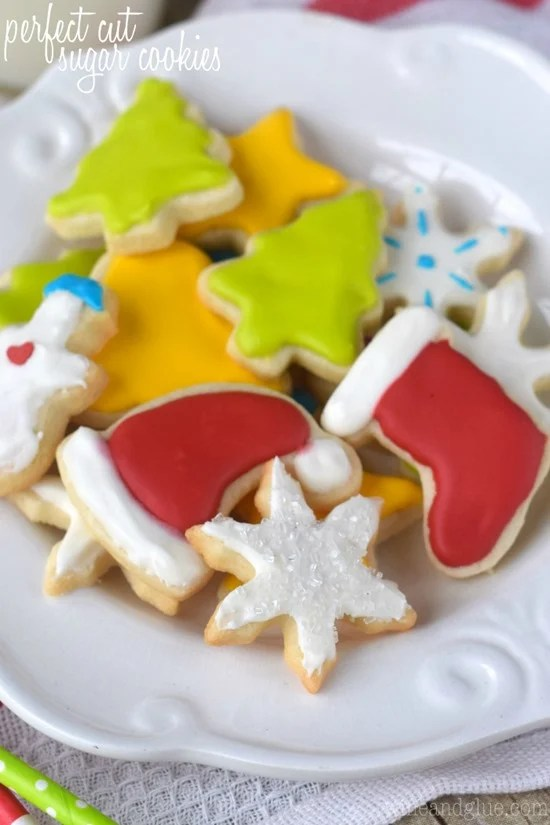 Perfect Cut Sugar Cookies