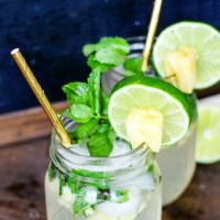 Pineapple Mojitos - 5 Ingredients