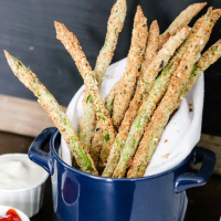 Air Fryer Asparagus Fries (easy recipe)