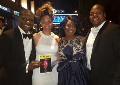 At the 2016 Tony Awards with the Harold Washington Cultural Center