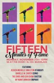 15 Minutes Of Fame Poster