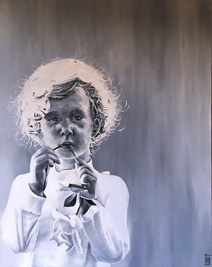 Enfant 02 oil 1979