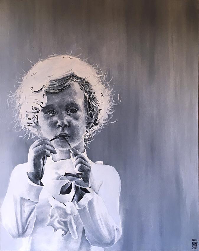 Enfant 02 oil 1979