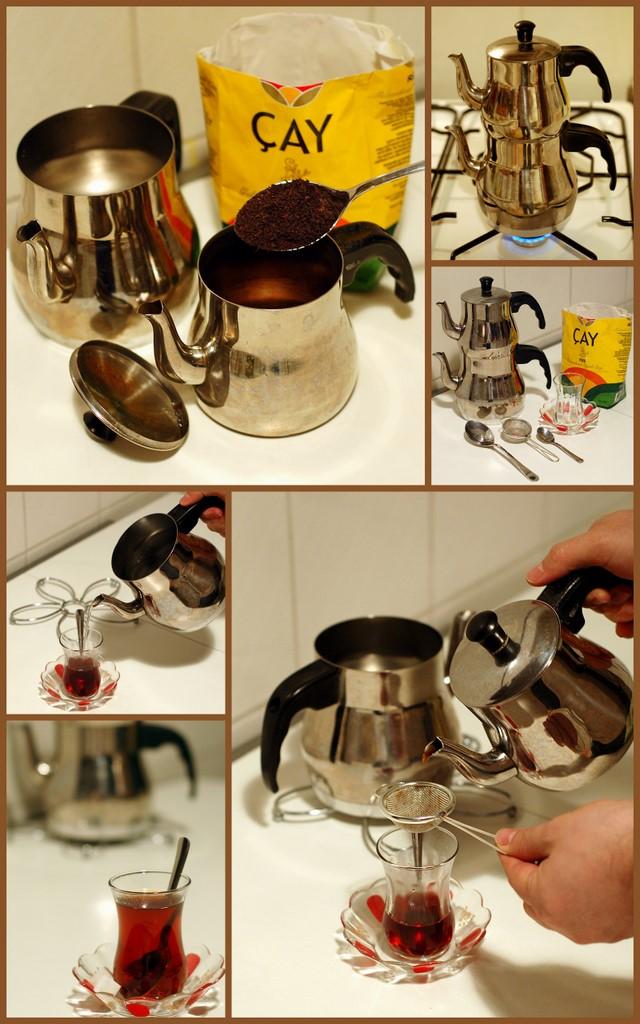 Sposób przygotowania tureckiej herbaty