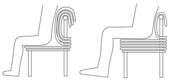 krzesło regulowane