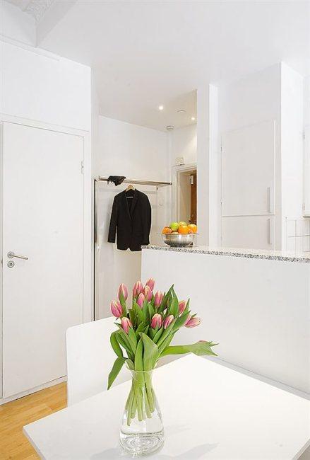 Mały apartament - przedpokój